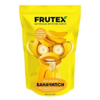 Чипсы Frutex банановые 60г