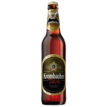 Пиво Krombacher Dark 4,3% 500мл - купить, цены на Ашан - фото 2