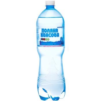 Вода мінеральна Поляна Квасова 8 газована лікувально-столова 1,5л - купити, ціни на Фуршет - фото 1