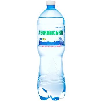 Вода Алекс Лужанська мінеральна лікарська 1,5л - купити, ціни на Фуршет - фото 1