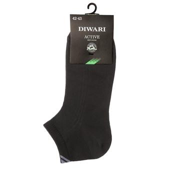 Носки мужские Diwari Active короткие р.27 018 черный 7С-37СП