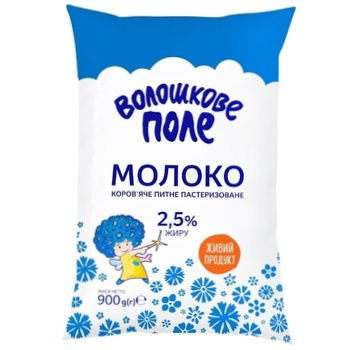 Молоко Волошкове Поле пастеризоване 2.5% 900г - купити, ціни на Фуршет - фото 2