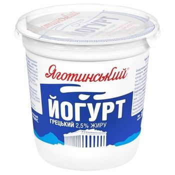 Yahotynskyi Greek Yogurt 2,5% 300g