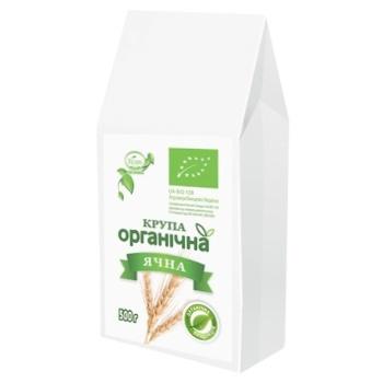 Крупа ячна Козуб органічна 500г - купити, ціни на Ашан - фото 1