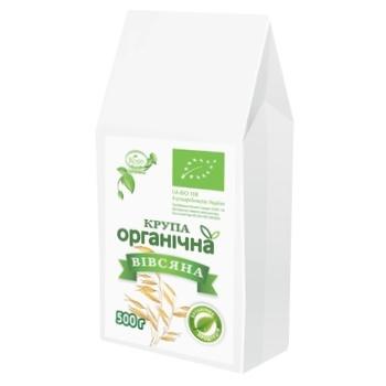 Крупа вівсяна Козуб органічна 500г - купити, ціни на CітіМаркет - фото 1