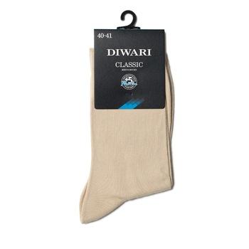 Носки мужские Diwari Classic р.25 000 бежевый 5С-08СП