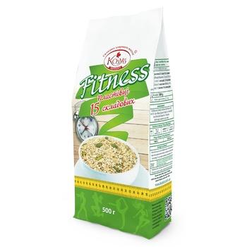 Kozub Fitness Oatmeal Flakes - buy, prices for CityMarket - photo 1