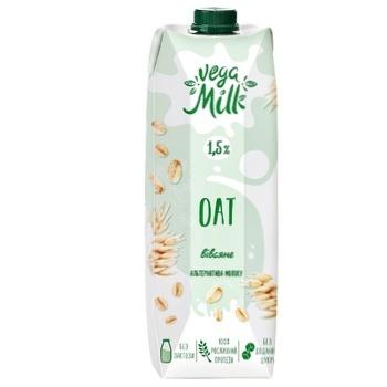 Напиток овсяный Vega Milk 1,5% 950мл