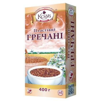 Kozub Buckwheat Flakes 400g - buy, prices for CityMarket - photo 1