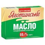 Масло Яготинское Бутербродное сладкосливочное 69,2% 200г
