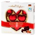 Конфеты Maitre Truffout марципановые в черном шоколаде 110г