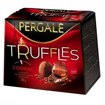Pergale Truffles Cognac Candies 200g - buy, prices for EKO Market - photo 1