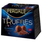 Цукерки Pergale Truffles Classic 100г