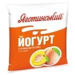 Йогурт Яготинский 1,5% персик 400г