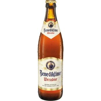 Пиво Benediktiner Weissbier светлое пшеничное 5,4% 0,5л