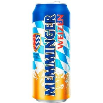 Memminger Weizen Light Unfiltered Beer 5.1% 0.5l - buy, prices for Auchan - photo 1