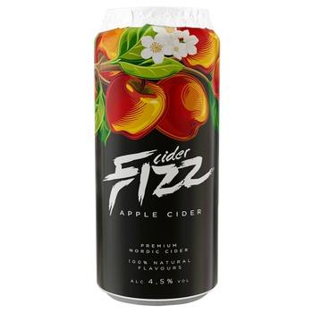 Сидр Fizz Apple зі смаком яблука 0,5л