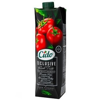 Cido Tomato Juice with Sea Salt 1l
