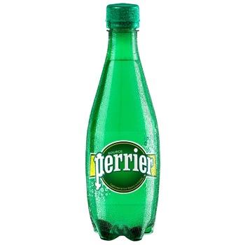 Вода Перье газована пластикова пляшка 500мл Франція - купити, ціни на CітіМаркет - фото 1