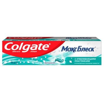 Зубна паста Colgate Макс Блиск відбілююча 50мл - купити, ціни на ЕКО Маркет - фото 1