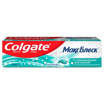 Colgate MaxBlisk Whitening Toothpaste 100ml - buy, prices for Auchan - photo 2