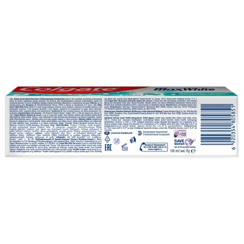 Colgate MaxBlisk Whitening Toothpaste 100ml - buy, prices for MegaMarket - photo 4