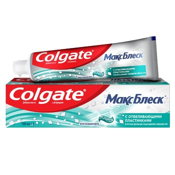 Colgate MaxBlisk Whitening Toothpaste 100ml - buy, prices for Auchan - photo 1