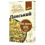 Крупа пшенична Хуторок Панський Артек порційна 300г