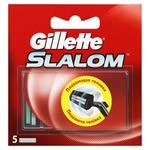 Gillette Slalom Replaceable Shaving Cartridges 5pcs
