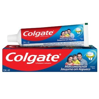 Colgate Maximal Against Caries Protection Fresh Mint Toothpaste 100ml - buy, prices for CityMarket - photo 1