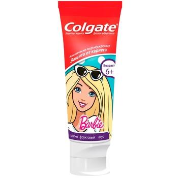 Зубна паста Colgate Barbie/Batman дитяча 6+ 75мл - купити, ціни на ЕКО Маркет - фото 1