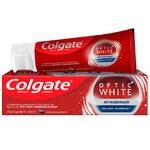 Зубна паста Colgate Optic White Миттєвий відбілююча 75мл