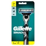 Бритва Gillette Mach3 с 2 сменными картриджами