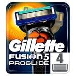 Gillette Fusion ProGlide Replacement Shaving Cartridges 4pcs
