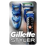 Бритва-стайлер Gillette Fusion5 ProGlide Styler 1 сменная кассета +3 насадки для моделирования бороды и усов