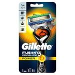 Gillette Fusion5 Power Flexball with 1 Replaceable Cartridge Razor