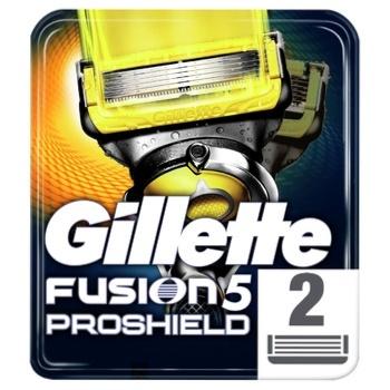 Картриджи для бритья Gillette Fusion ProShield сменные 2шт