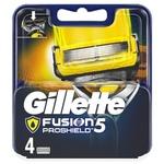 Картриджи для бритья Gillette Fusion5 ProShield сменные 4шт