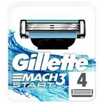 Gillette Mach3 Start Replaceable Shaving Cartridges 4pcs