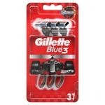 Бритвы Gillette Blue 3 Nitro одноразовые 3шт