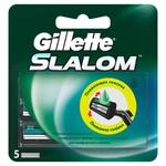 Картриджи для бритья Gillette Slalom сменные с увлажняющей лентой 5шт
