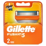 Gillette Fusion Replacement Shaving Cartridges 2pcs