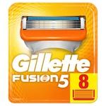 Картриджи для бритья Gillette Fusion5 сменные 8шт