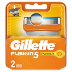 Gillette Fusion Power Replacement Shaving Cartridges 2pcs