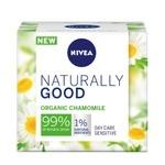 Крем для обличчя Nivea Naturally Good для чутливої шкіри 50мл