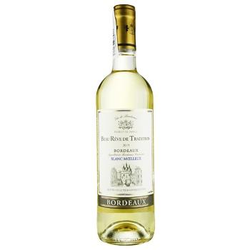 Вино Beau Reve de Tradition Blanc Moelleux Bordeaux белое полусладкое 11% 0,75л