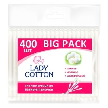 Lady Cotton Cotton Swabs 400pcs