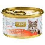 Wet food for cats Brit Care Cat Chicken Breast 80g chicken breast