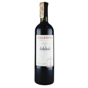 Вино Didebuli Sachino красное сухое 12% 0,75л