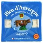 Bleu d'Auvergne Sancy мягкий с голубой плесенью 50% 125г